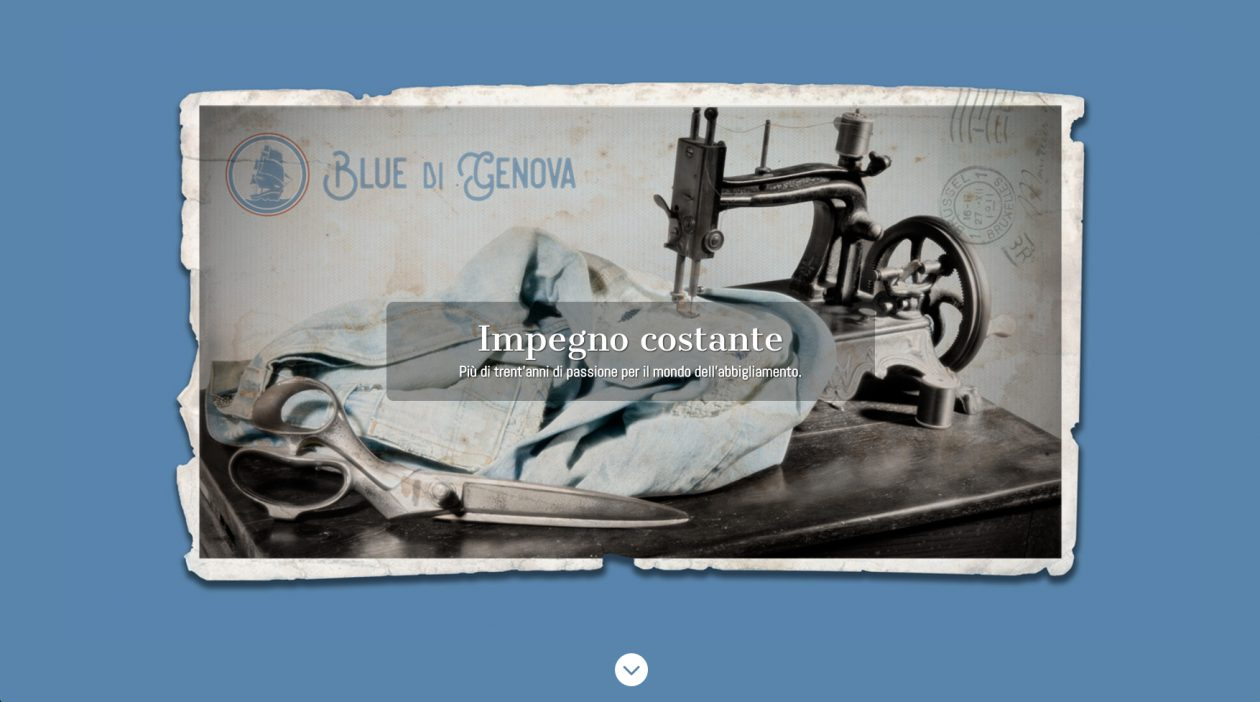 Blue di Genova Clothing