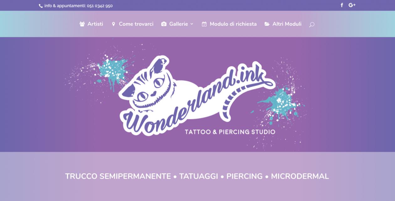 Wonderland.ink Tattoo & Piercing Studio