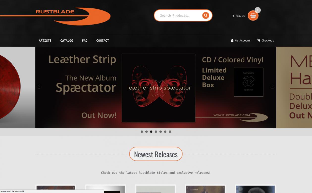 Rustblade Label & Distribution