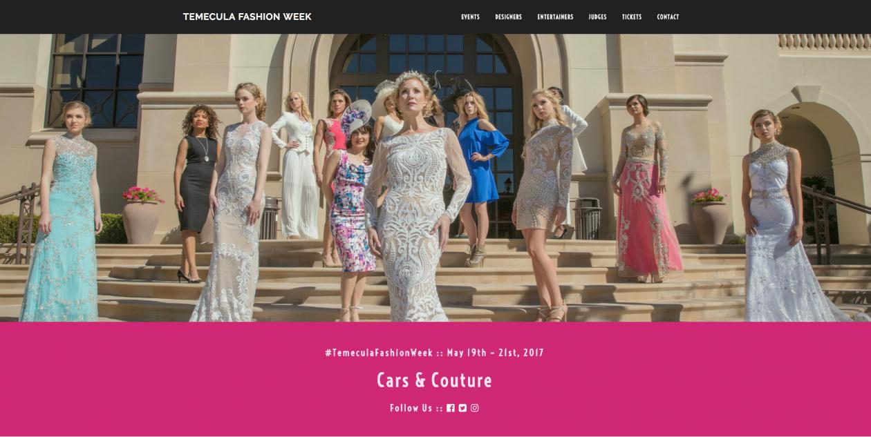 Fashion Week Temecula